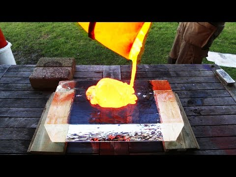 EXPERIMENT: LAVA vs CLEAR ICE