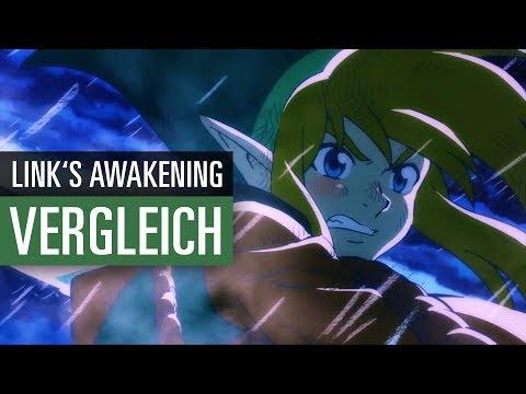 The Legend Of Zelda Link S Awakening Original Vs Remake