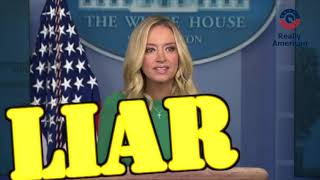 Kayleigh McEnany STORMS OUT of combative press conference