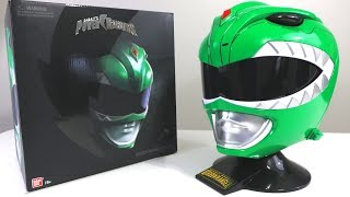 UNBOXING & REVIEW - The Legacy Green Ranger Helmet - 1:1 Helmet 2018!