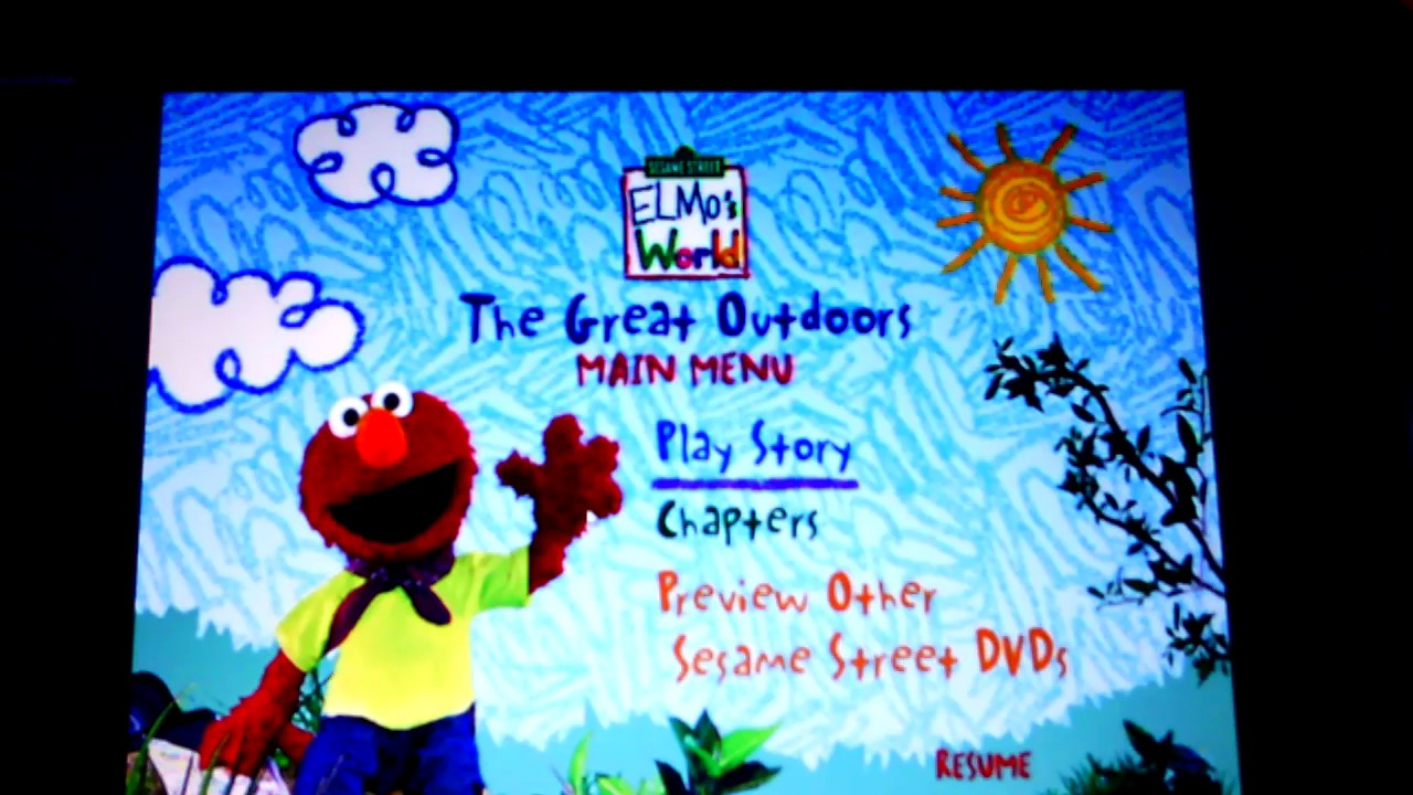 Elmo The Great Outdoors Details