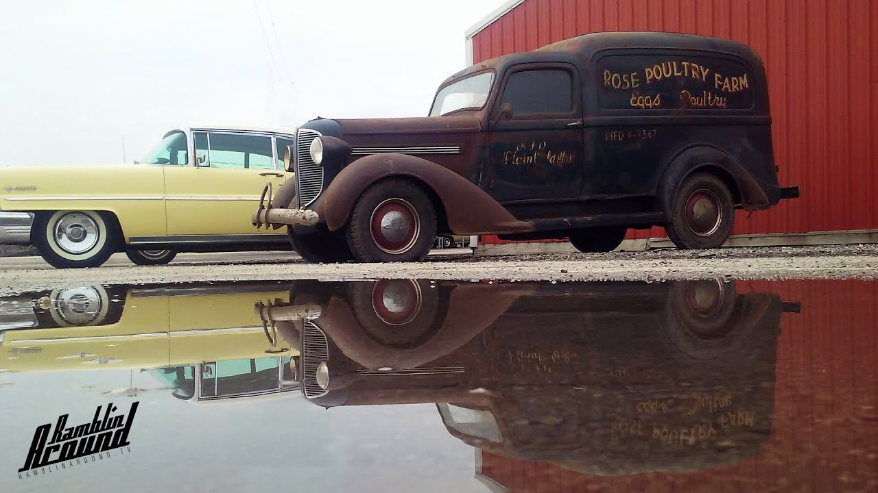 1938 Dodge Humpback Panel Delivery Great Patina Youtube 1941 Ford Sedan