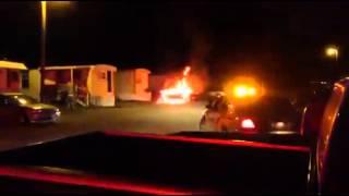 West Burlington IA Vehicle Fire 6/20/15