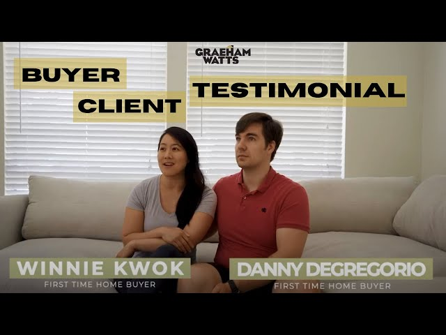 First-time home buyer clients l Winnie & Danny's Testimonial