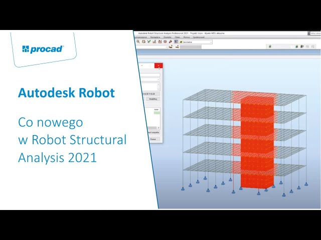 Co nowego w Robot Structural Analysis 2021