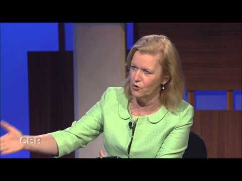 The Irish Ambassador to the U.S, Anne Anderson