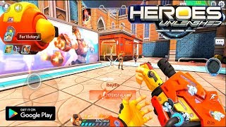 Heroes Unleashed : Alpha Test Gameplay (Android) HD