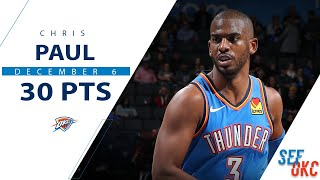 Chris Paul's Full Highlights: Season High 30 PTS, 7 AST vs Wolves | 2019-20 NBA Season - 12.6.19