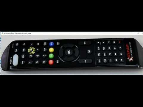CODE SECRET REMOTE GEANT 2500HD STARSAT 8800HD     EXT