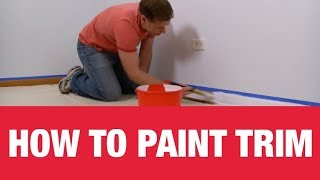 How To Paint Wall Trim -- Ace Hardware