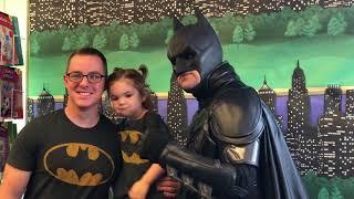 Batman Visits Teacher's Pet!