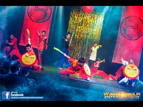 Wushu Warriors - Live Kung Fu Show - Bookings & Services Information 2017