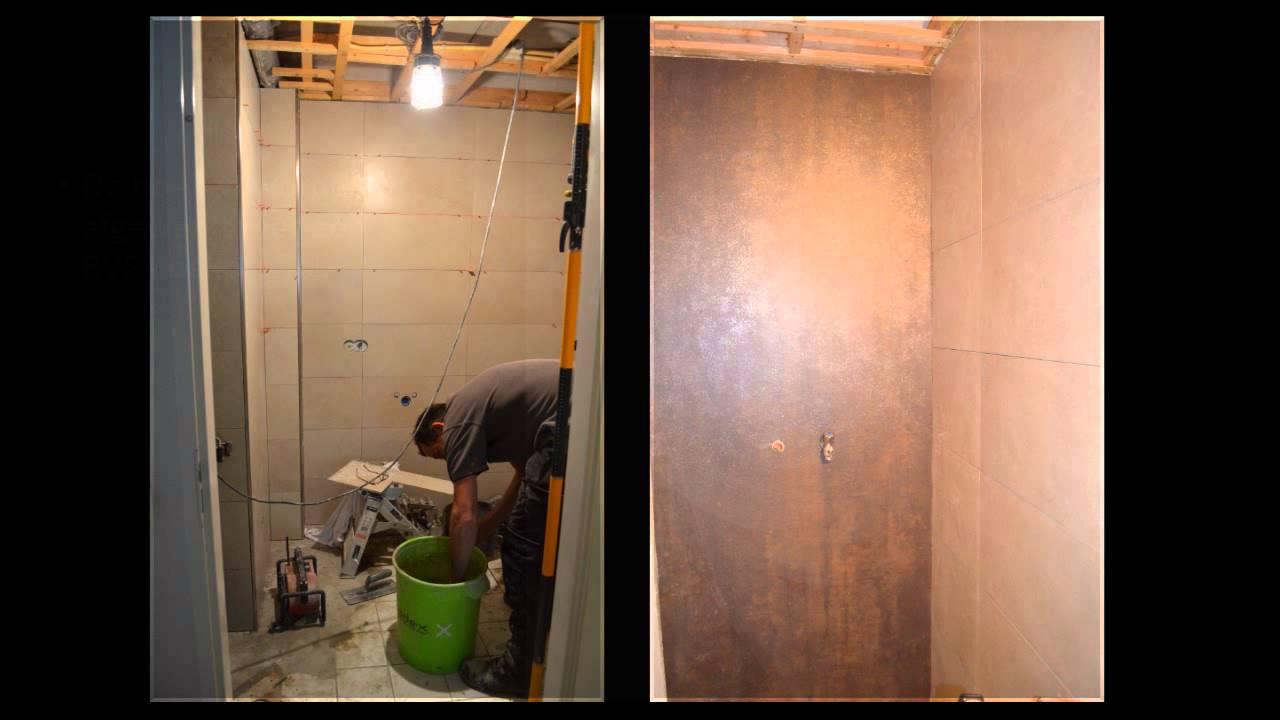 Tegels Badkamer Stroken ~ Een nieuwe badkamer van dag tot dag door Erik Vogt Tegelwerk & Montage