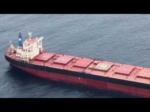 Coal ship rescue off Lake Macquarie