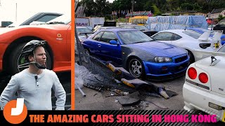homepage tile video photo for The Amazing Cars In Hong Kong's Scrapyards And Storage Lots