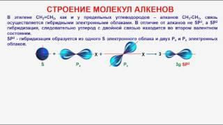 № 18. Органическая химия. Тема 8. Алкены. Часть 2. Строеине алкенов