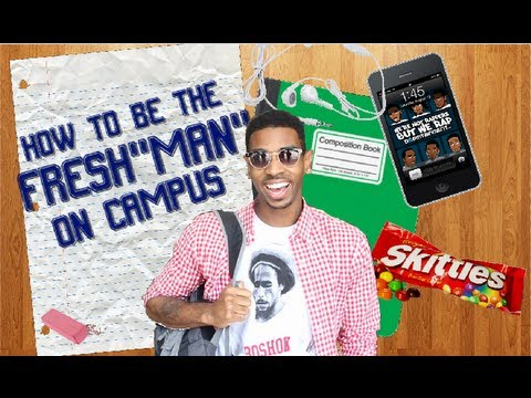 How To Be A Freshman On Campus! (Comedy Skit)