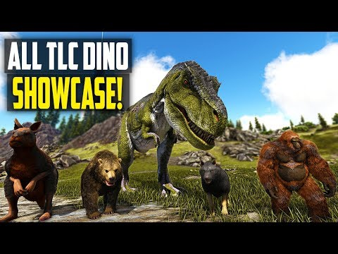 🔔 ALL ARK DINO TLC PHASE 1 SHOWCASE! NEW ANIMATIONS AND MODELS! Ark Survival Evolved Update 278