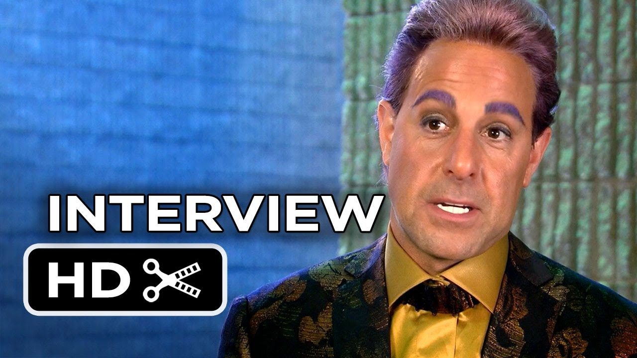The Hunger Games: Catching Fire - Stanley Tucci Interview ... Stanley Tucci Hunger Games