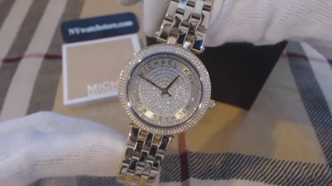 26dfdf5b9b64 Women s Michael Kors Mini Darci Crystallized Glitz Watch MK3445 ...
