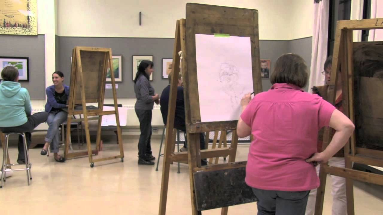 Adult Drawing Class - YouTube