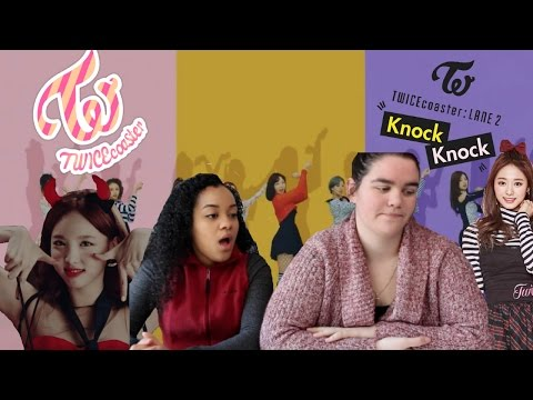 TWICE TT AND KNOCK KNOCK REACTION