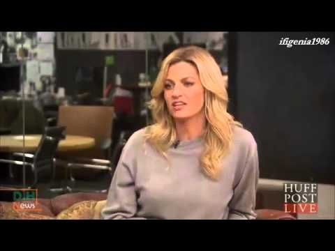 Erin Andrews talks about Derek Hough - February 17, 2016
