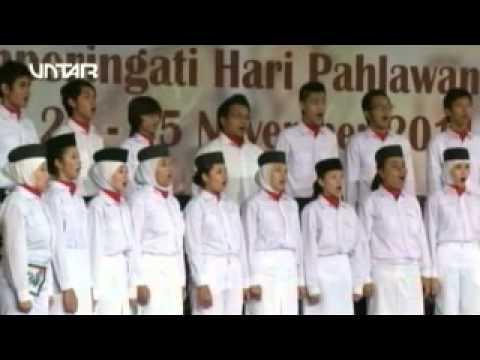 Jinggaswara Itenas Choir Bandung - Gugur Bunga (arr. Agustinus Bambang Jusana)