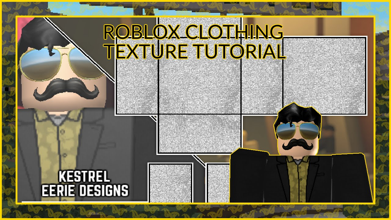 roblox clothing - texture tutorial