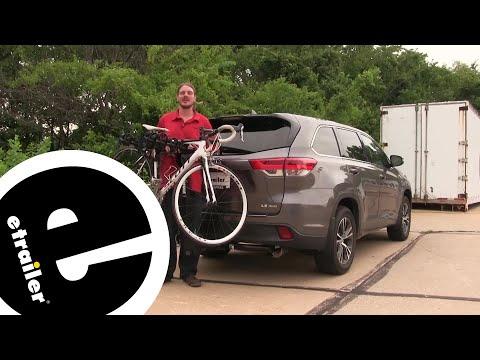 Thule Hitching Post Pro Hitch Bike Rack Review - 2018 Toyota Highlander - etrailer.com