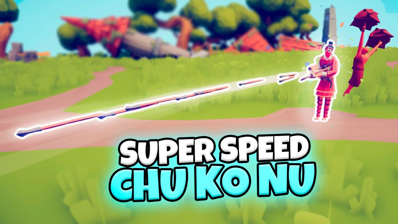 SUPER SPEED CHU KO NU VS EVERY FACTION. FAST ATTACK WITH CHEERLEADER | TABS GAMEPLAY