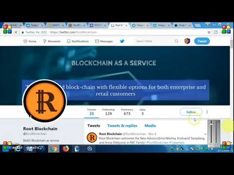 1000 ROOT BLOCKCHAIN (RBC )Free Token Free ico coin New airdrop