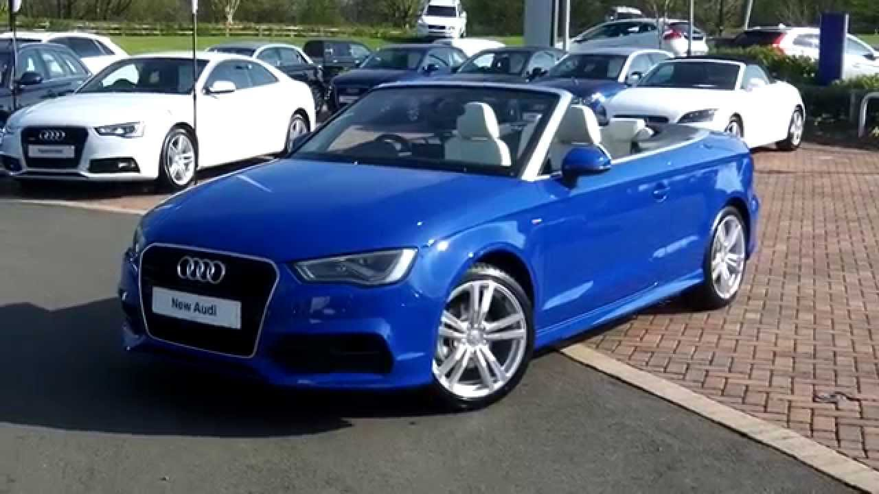 new audi a3 cabriolet 1 4tfsi 150ps s line exclusive youtube. Black Bedroom Furniture Sets. Home Design Ideas