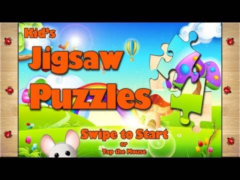 Kid's Jigsaw Puzzle App for iPad, iPod and iPhone by www.BubbalooDigital.com