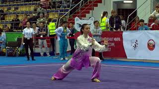 Download Video 14th WWC - Women's Taijiquan - Lindswell LINDSWELL (INA) MP3 3GP MP4