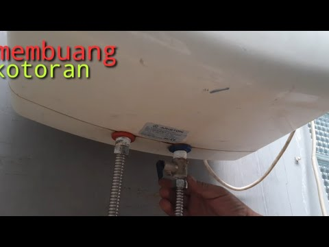 Menguras Tanpa Membongkar Electric Ariston Water Heater Storage Tank Ti Pro 30 L6 Youtube