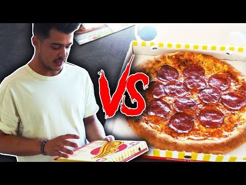 Selfmade Pizza VS Bestell Pizza
