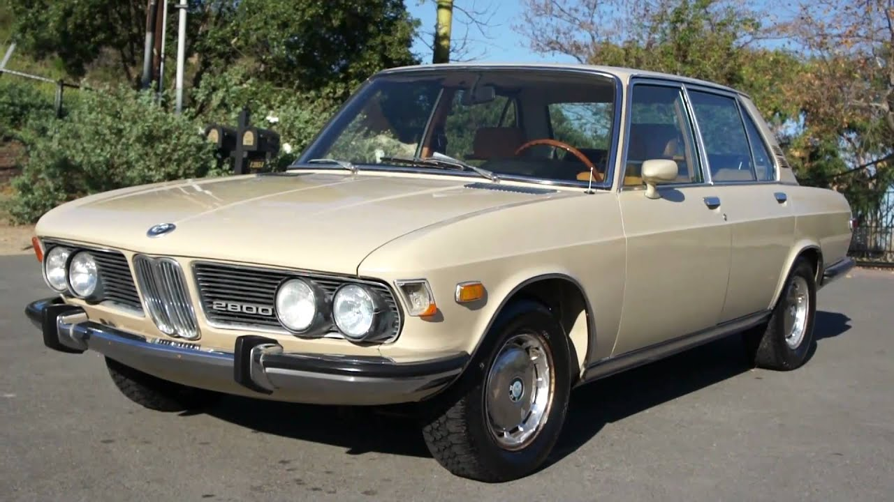 Bmw 2002 For Sale >> 1970 BMW 2800CS 1 Owner 2800 2002 **XLNT** - YouTube