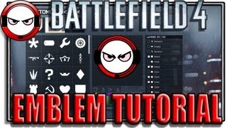 Battlefield 4 - Custom Emblem tutorial (Battlefield 4 gameplay / tutorial)