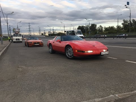 Chevrolet Corvette C4 1995   Эмоции незнакомца   Обзор