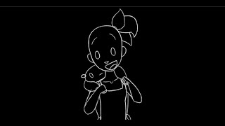 Teddy - Rough Animation Pass - Traditional 2D Toon Boom