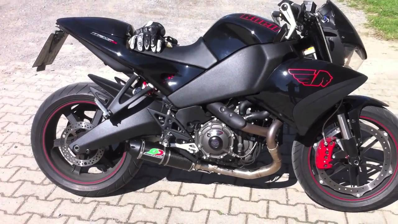 Quat-D Exhaust on Buell 1125 CR