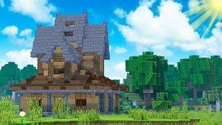База для выживания в Minecraft / Майнкрафт сделать Дом - Скачать карту