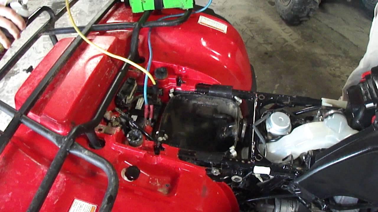 Honda Rubicon 500 TRX500FA Automatic Parts or Fixer Upper