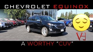 2019 Chevrolet Equinox Review   A worthy Crossover Utility Vehicle