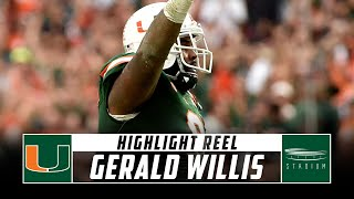 Gerald Willis Miami Football Highlights - 2018 Season | Stadium