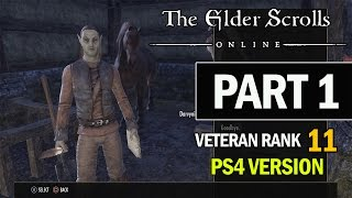 The Elder Scrolls Online PS4 Walkthrough Part 1 - Let