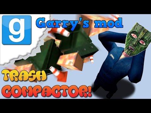 TOM NIGDY NIE PUDŁUJE!   Garry's mod (Z widzami) #9 - Trash Compactor! (#5) /Zagrajmy w