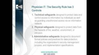 Physician IT: Getting Your Healthcare Practice Information Security and Continuity House In Order