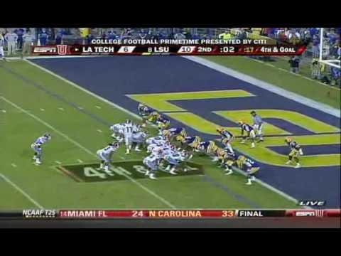 La Tech Offense Highlights Vs Lsu Football 09 Youtube